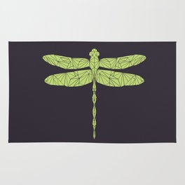 The dragonfly is not envoius Rug