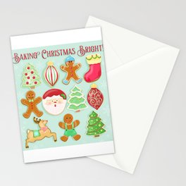 Baking Christmas Bright Stationery Cards