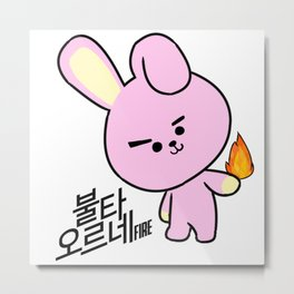 BT21 - COOKY Metal Print