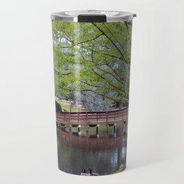 Park Geese Travel Mug