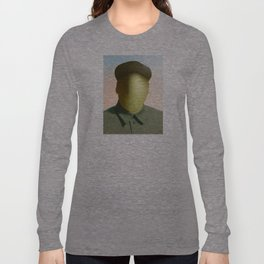 Mao as wound 1 Collage Long Sleeve T-shirt