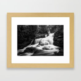McLean Falls, New Zealand Framed Art Print