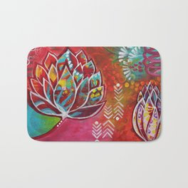 Blooming Beauty Bath Mat