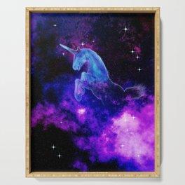 Cosmic Unicorn Serving Tray