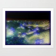 Dunes in Space Art Print