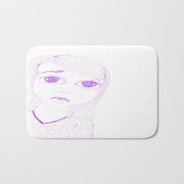 purple sadness1 Bath Mat
