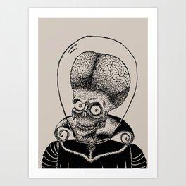 Mars Attacks! Art Print