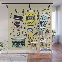 Sugar and Spice Wall Mural