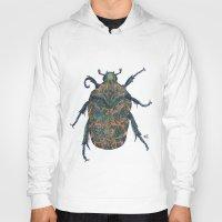 beetle Hoodies featuring Beetle by MSRomeiro