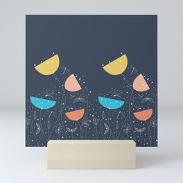Midnight romance Mini Art Print