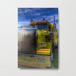 Peterbilt American Truck Metal Print