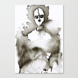 Porous Physique Canvas Print