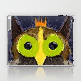 The Kingly Owl - Digital Painting Laptop & iPad Skin