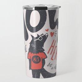 Howl to the Heart Travel Mug