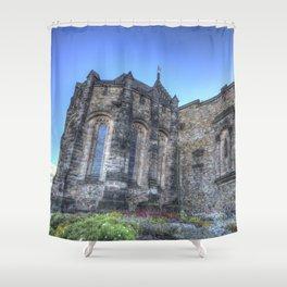 St Margaret's Chapel Edinburgh Castle Shower Curtain