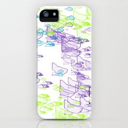 Rock Pattern Inverted iPhone Case