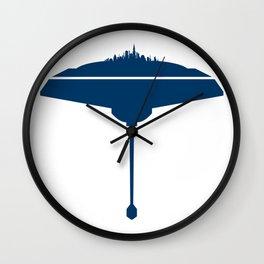 Cloud City Wall Clock
