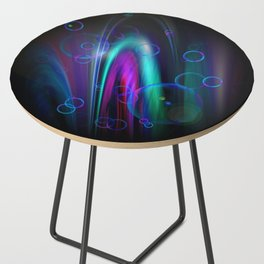 Vegas Water Fountain Side Table
