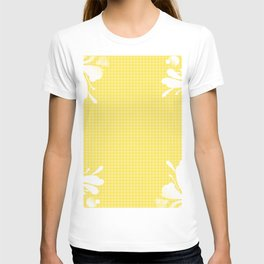 Light Yellow Pattern (Color) T-shirt