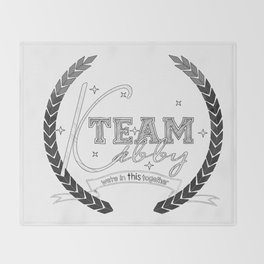 Team Kabby Throw Blanket