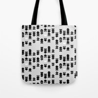 minimalism Tote Bags featuring Minimalism 13 by Mareike Böhmer
