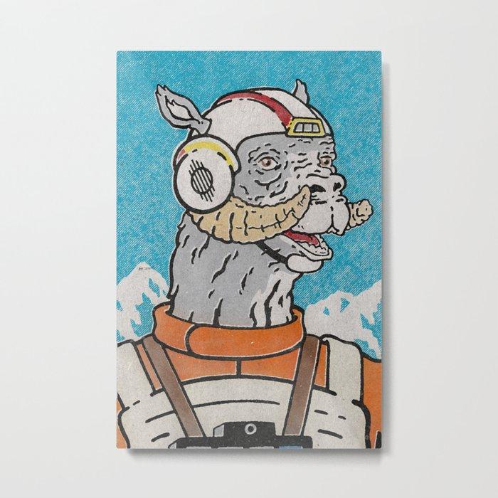 Luke (Pilot) Metal Print