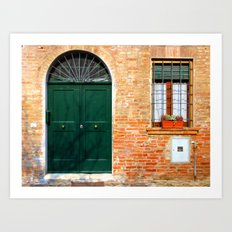 Door Series (3) Art Print