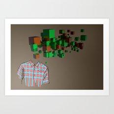 Camisa Art Print