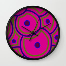 Stem Cells - Pink Wall Clock