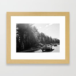 Classics Through the Smokies Framed Art Print