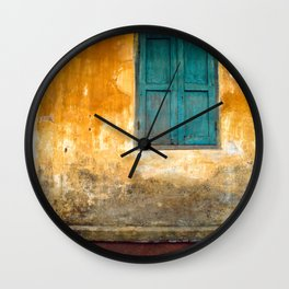 Asian Laundry Day Wall Clock