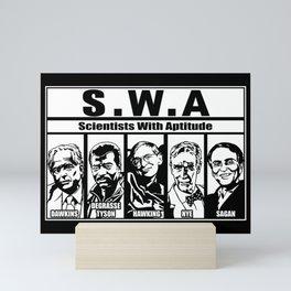SWA Scientists With Aptitude Mini Art Print