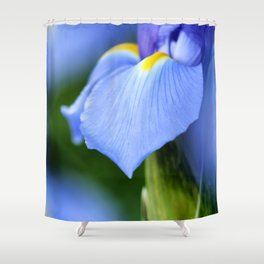 Dwarf Iris Shower Curtain