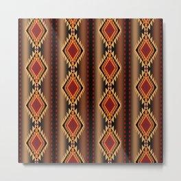 southwest stripe Metal Print