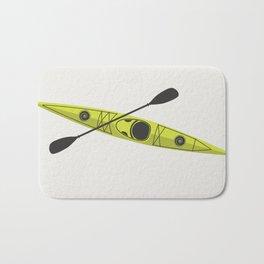 Kayak - Lime Green Bath Mat