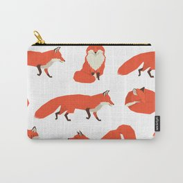 Wild Animals Red Foxes Carry-All Pouch