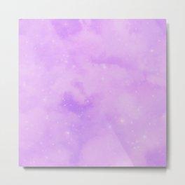 Pastel Cloulds Sky Seamless Nebula 187 Metal Print