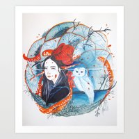 Lost and Tangled Art Print