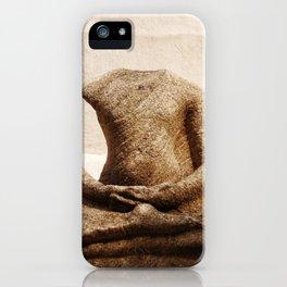 Broken Buddha Statue iPhone Case