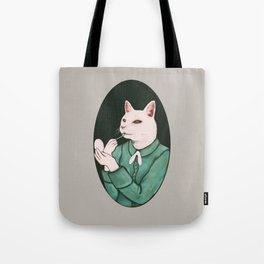 Cat Lip Tote Bag