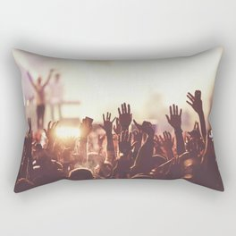 Fans concert Music Rectangular Pillow