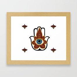 Khamsa Framed Art Print