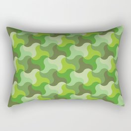 All-Green Alhambra Rectangular Pillow