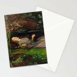 """Ophelia"" by Sir John Everett Millais (1851) Stationery Cards"