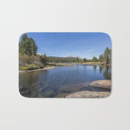 Tuolumne River and Meadows, No. 2 Bath Mat