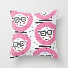 Cute lions Throw Pillow