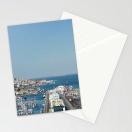 Port of Lisbon, Portugal Stationery Cards