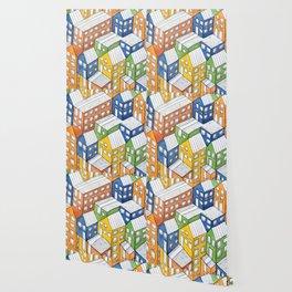House on house Wallpaper