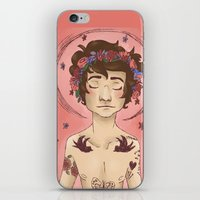 cargline iPhone & iPod Skins featuring Hippie Harry by cargline