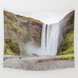 Skogafoss waterfall Wall Tapestry